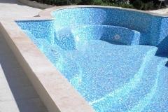 Внешняя облицовка бассейна