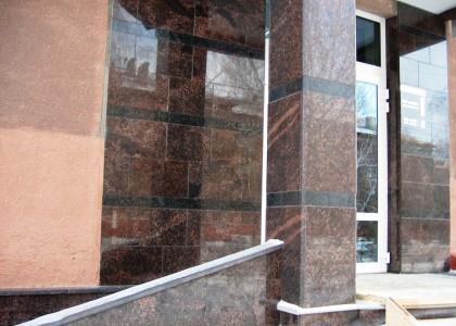 Облицовка мрамором фасадов
