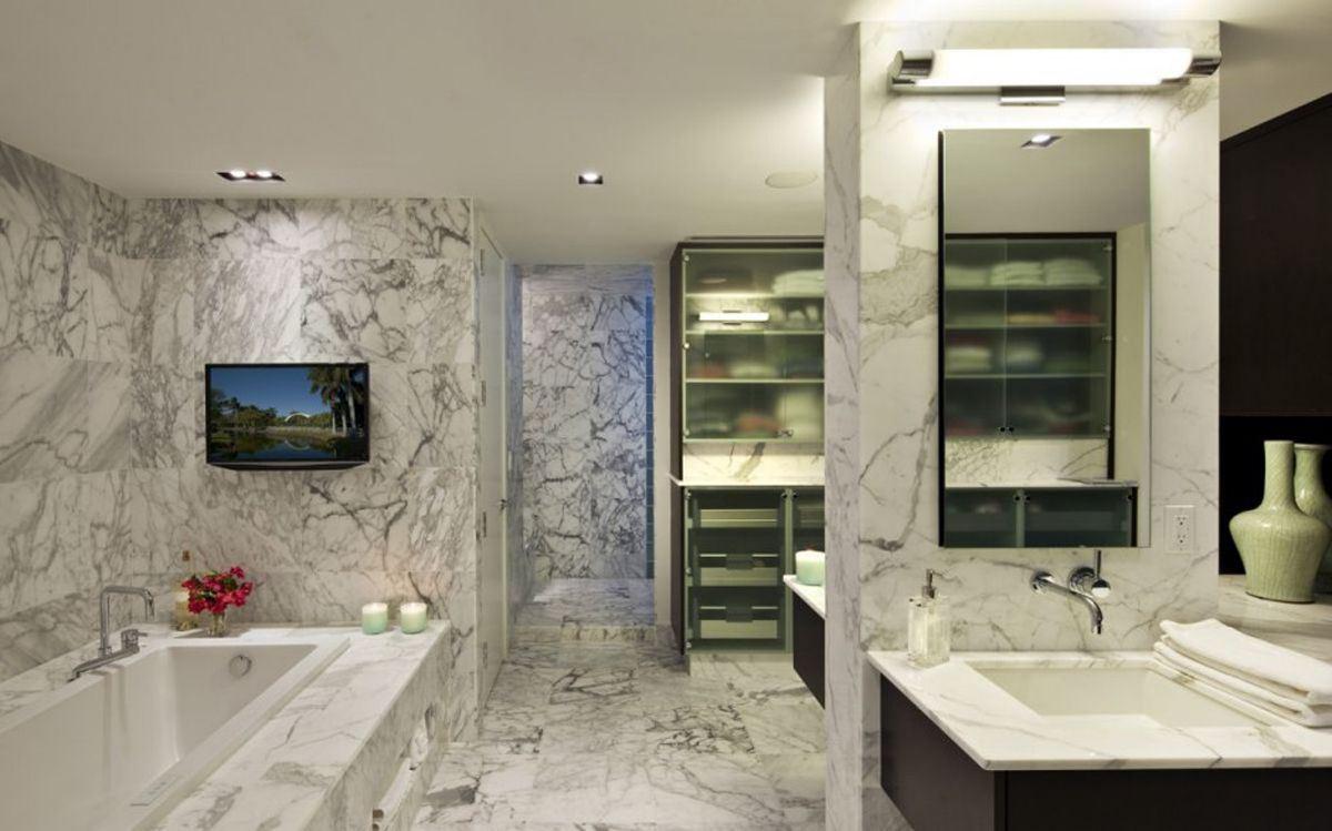 Ванная комната в мраморе